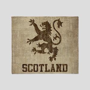 Vintage Scotland Throw Blanket