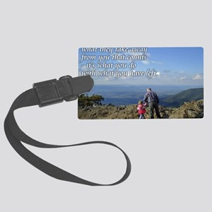 What you do Large Luggage Tag