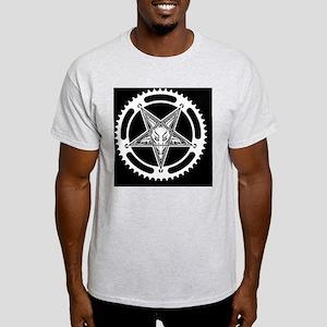 Speed Metal Cycling Pentagram Chainr Light T-Shirt