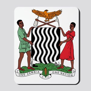 Zambia Coat Of Arms Mousepad