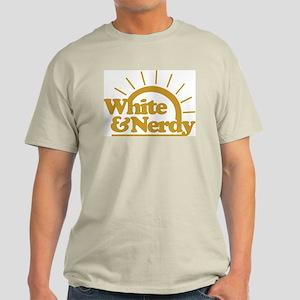 White & Nerdy Light T-Shirt