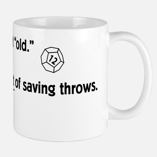 Saving Throw Mug