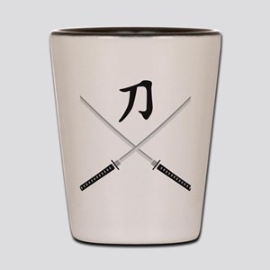 samurai sword Shot Glass