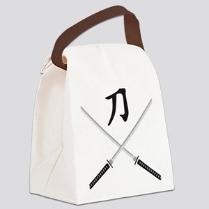 samurai sword Canvas Lunch Bag