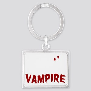 My Husband is a Vampire Landscape Keychain