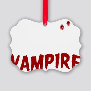 My Husband is a Vampire Picture Ornament