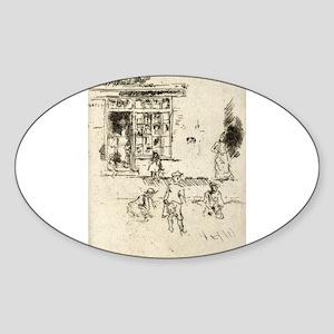 Marbles - Whistler - 1887 Sticker