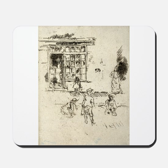 Marbles - Whistler - 1887 Mousepad