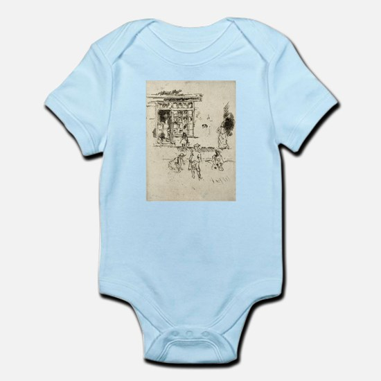 Marbles - Whistler - 1887 Body Suit