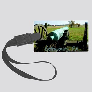 Canon on Battlefield, Gettysburg Large Luggage Tag