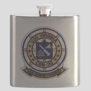 uss virginia patch transparent Flask
