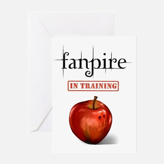 Fanpire In Training Greeting Card