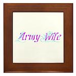 Army Wife ver2 Framed Tile