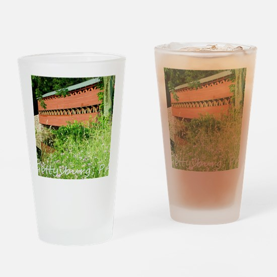 Gettysburg PA, Sachs Bridge, Mousep Drinking Glass