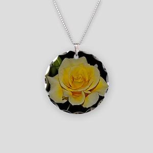 LemonCustard Rose Poster: Ro Necklace Circle Charm