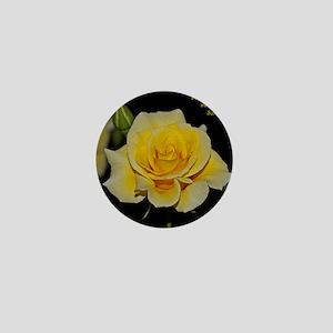 LemonCustard Rose Poster: RoseProse 16 Mini Button