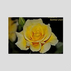 LemonCustard Rose Poster: RosePro Rectangle Magnet