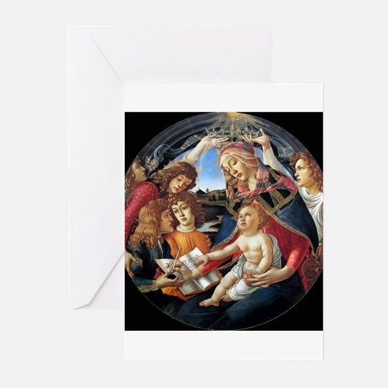 Magnifat Madonna - Botticelli Greeting Cards