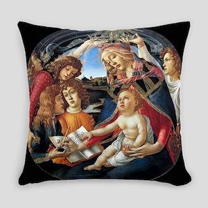 Magnifat Madonna - Botticelli Everyday Pillow