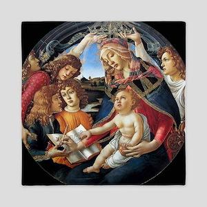 Magnifat Madonna - Botticelli Queen Duvet