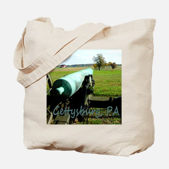 Canon on Battlefield, Gettysburg, PA Mous Tote Bag
