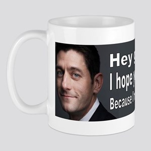 Paul Ryan: Hey girl Mug
