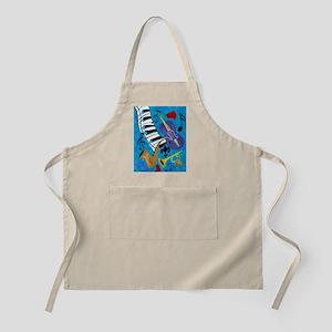 Jazz Music art Apron