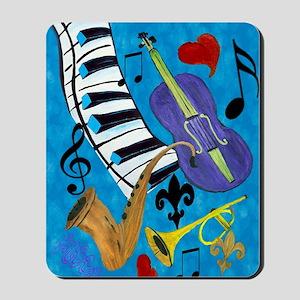 Jazz Music art Mousepad