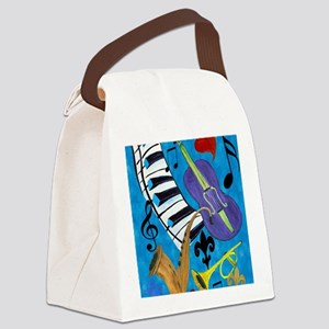 Jazz Music art Canvas Lunch Bag