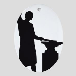 blacksmith Oval Ornament