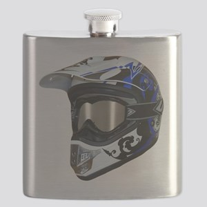 Premises187's MX Helmet Custom Design Flask