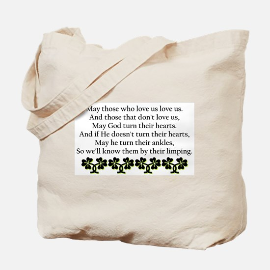 Irish Blessing? Tote Bag