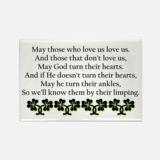 Irish Blessing? Rectangle Magnet