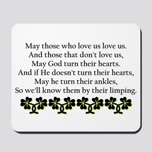 Irish Blessing? Mousepad