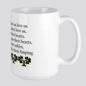 Irish Blessing? Large Mug
