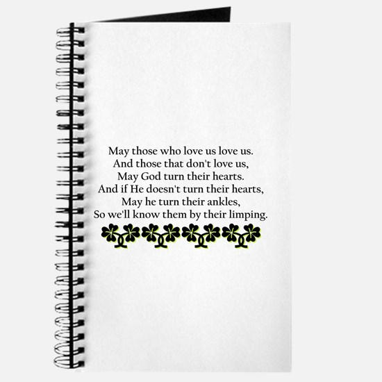 Irish Blessing? Journal