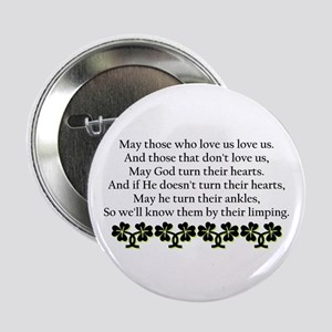 Irish Blessing? Button