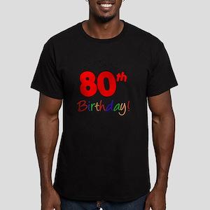 Oma 80th Birthday Men's Fitted T-Shirt (dark)