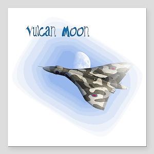 "Vulcan Moon Square Car Magnet 3"" x 3"""