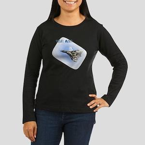 Vulcan Moon Women's Long Sleeve Dark T-Shirt