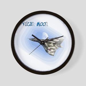 Vulcan Moon Wall Clock