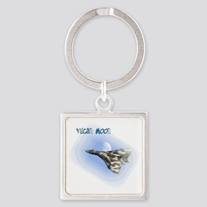 Vulcan Moon Square Keychain