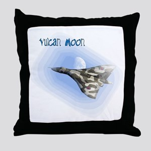Vulcan Moon Throw Pillow