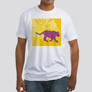 Panther Beer Label Fitted T-Shirt