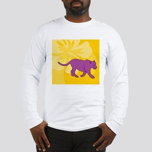 Panther Beer Label Long Sleeve T-Shirt