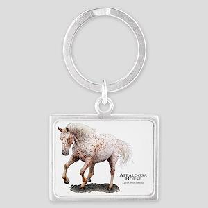 Appaloosa Horse Landscape Keychain
