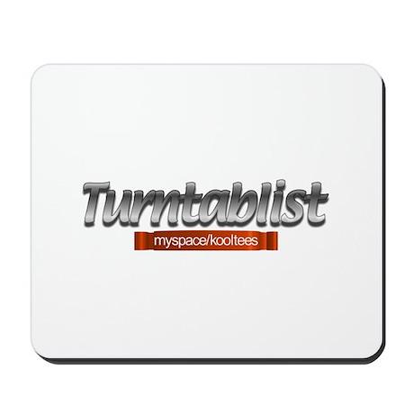 Turntablist Mousepad