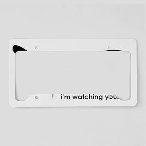 Eyes License Plate Holder