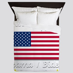 I Was There Obama Biden 2013 Inaugurat Queen Duvet
