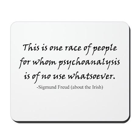 Freud and the Irish Mousepad